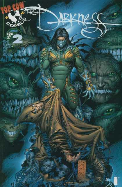 Darkness 2 - Top Cow Comics - Beasts - Skeletons - Claws - January - Dale Keown, Marc Silvestri