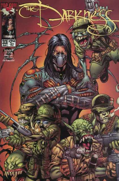 Darkness 33 - Evil - Monsters - 33 - Top Cow - Weapons