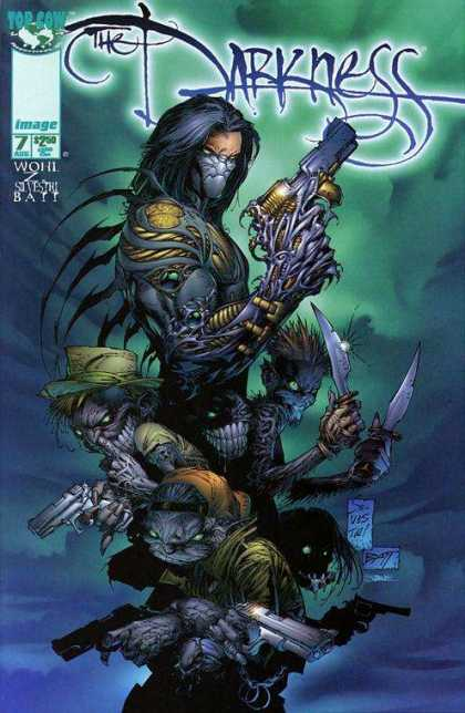 Darkness 7 - Guns - Knifes - Costumes - Monsters - Night - Dale Keown, Marc Silvestri