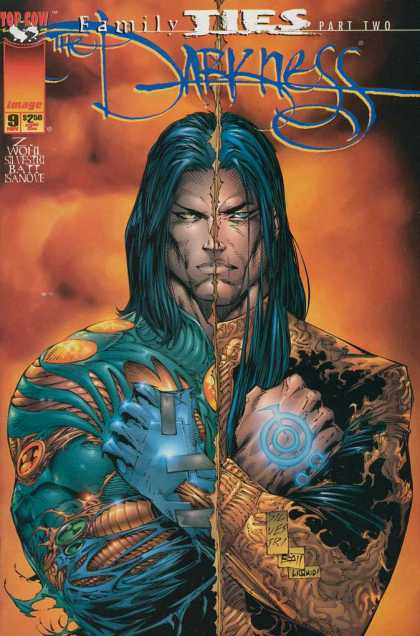 Darkness 9 - Top Cow - Family Ties - Part Two - Darkness - Sandve - Marc Silvestri