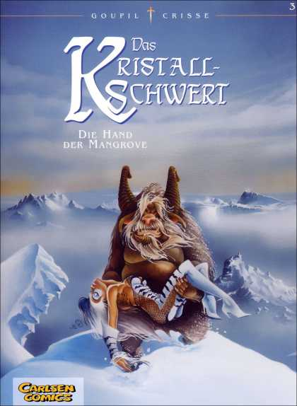 Das Kristallschwert 3 - Snow - Mountains - Beast - Woman - Carrying