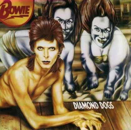 David Bowie - David Bowie - 1974 - Diamond Dogs