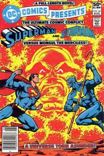 DC Comics Presents 36 - Superman - Starman - Mongul The Merciless - The Ultimate Cosmic Conflict - Blue Suit - Jim Starlin