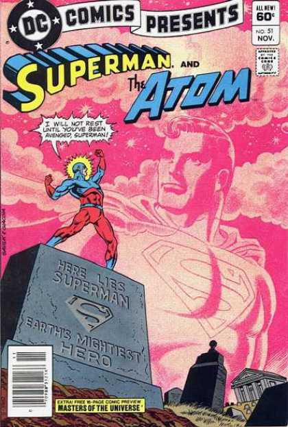 DC Comics Presents 51 - Superman - The Atom - Earths Mighiest Hero - Masters Of The Universe - Vengeance