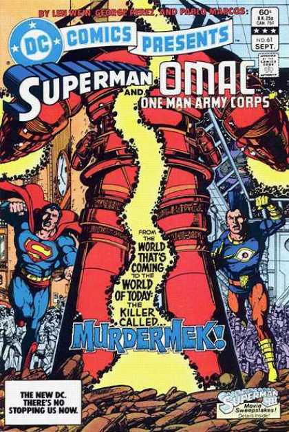 DC Comics Presents 61 - Superman - Hero - Fight - Monster - Thrill - George Perez