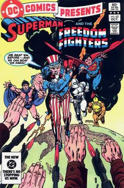 DC Comics Presents 62 - Superman - Freedom Fighters - Smoke - Beat - Fly