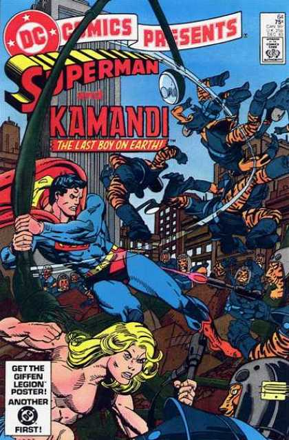 DC Comics Presents 64 - Approved By The Comics Code Authority - Superman - Kamandi - The Last Boy On Earth - Fight