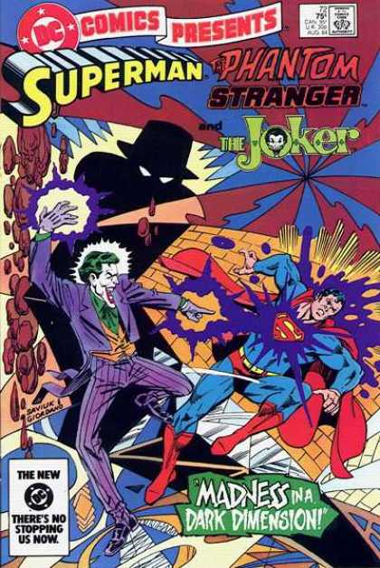 DC Comics Presents 72 - Superman - Phantom - Joker - Stranger - Madnes In A Dark Dimension - Dick Giordano