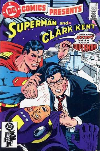 DC Comics Presents 79 - Dc Comics - Superman - Clark Kent - Crime - Future - Eduardo Barreto