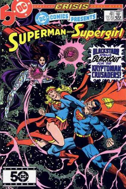 DC Comics Presents 86 - Superman - Supergirl - Universe - Kryptonian - Red Cape - Eduardo Barreto