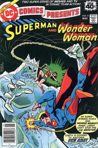 DC Comics Presents 9 - Superman - Wonder Woman - Action - Thrill - Power - Dick Giordano, Ross Andru