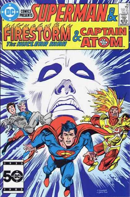 DC Comics Presents 90 - Superman - Approved By The Comics Code - Firestorm - Captain Atom - The Nuclear Man - Denys Cowan