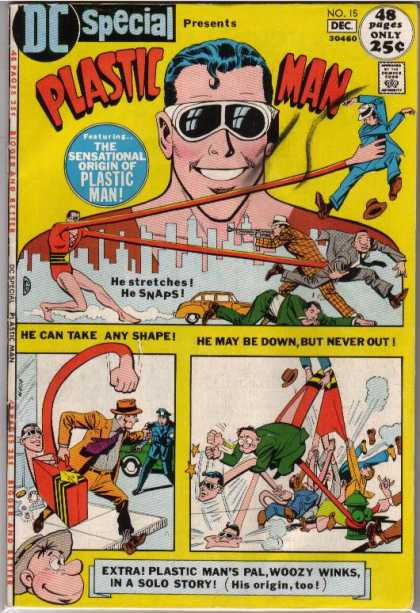 DC Special 15 - Plastic Man - Bend - Stretch - Glasses - Snap - Dick Giordano