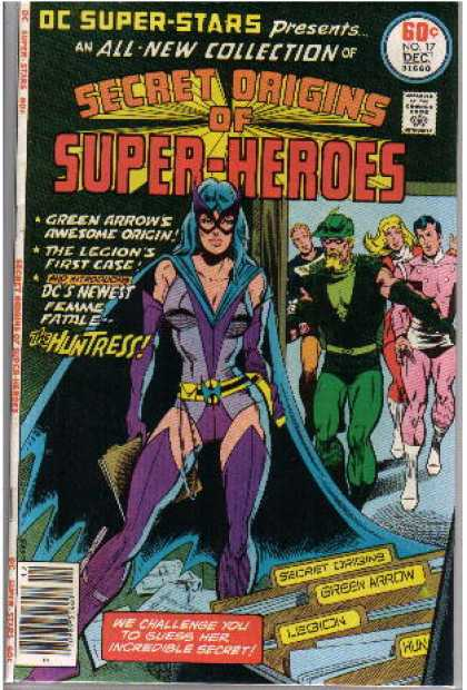DC Super-Stars 17 - Approved By The Comics Code - All-new Collection - Secret Origins - Superhero - The Huntress