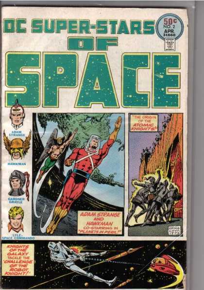 DC Super-Stars 2 - Space - Adam Strange - Hawkman - Atomic Knights - Planets In Peril