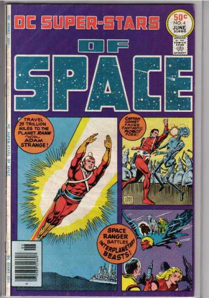 DC Super-Stars 4 - Dc Comics - Adam Strange - Captain Comet - Adventure - Classic Comics