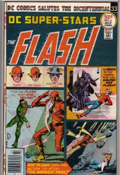 DC Super-Stars 5 - The Flash - Salutes The Bicentennial - Kid Flash - Battle