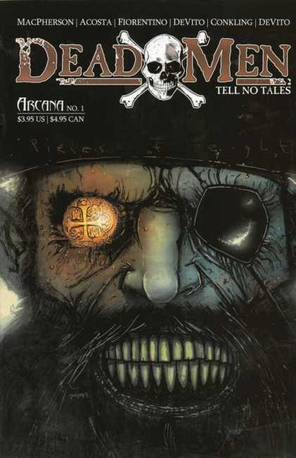Dead Men Tell No Tales 1 - Skull - Bones - Eyepatch - Arcana - Pirate - Ben Templesmith