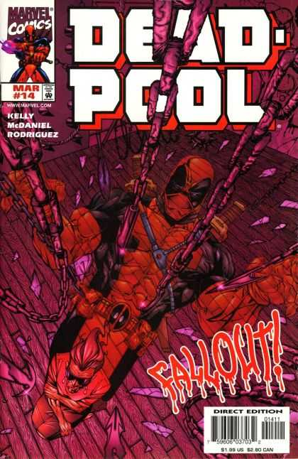 Deadpool 14 - Chains - Fall Out - Broken Glass - Kelly - Mcdaniel