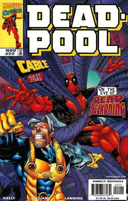 Deadpool 22 - Dead-pool - Cable - Dead Reckoning - Nov - 22