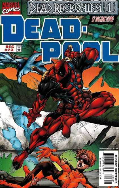 Deadpool 23 - Marvel - December - Dead Reckoning - Part 1 Of 3 - Sword