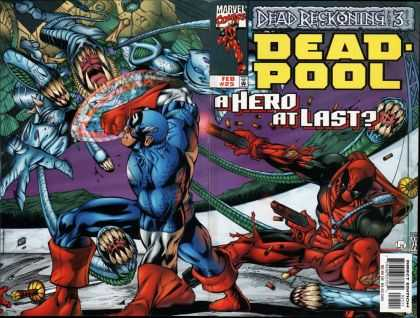 Deadpool 25 - A Hero At Last - Captain America - Fighting - Monster - Dead Reckoning