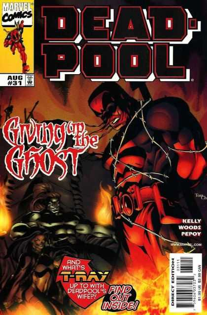Deadpool 31 - Marvel - August - Giving Up The Ghost - Barb Wire - Pepoy