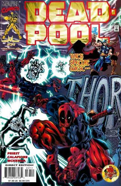 Deadpool 37 - Marvel - Special Guest - Thor - Lightning - Thunder