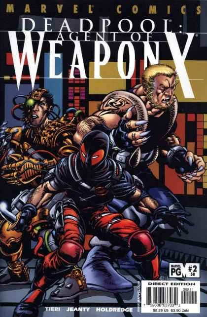 Deadpool 58 - Weapon X - Monocle - Claws - Ninja - Steampunk - Barry Windsor-Smith