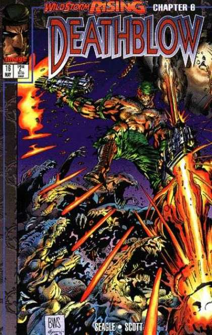 Deathblow 16 - Wildstorm Rising - Chapter 8 - Big Guns - Dinosaurs - Seagle Scott - Barry Windsor-Smith