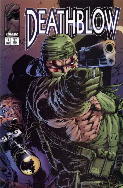 Deathblow 17 - Image - Gun - Man - Superhuman - 17 June