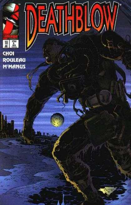 Deathblow 18 - Planet - Dark - Creature - Stones - Long Way