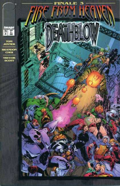 Deathblow 28 - Finale 3 - Fire From Heaven - Tom Joyner - Brandon Choi - Trevor Scott