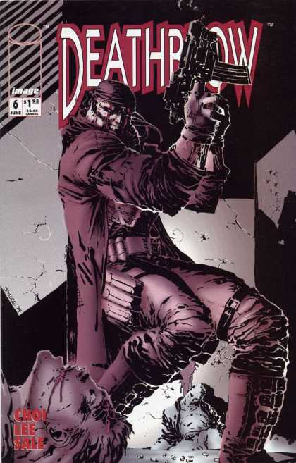 Deathblow 6 - Tattered - Gloved - Leather Pants - Crumbling Wall - Ammo - Jim Lee