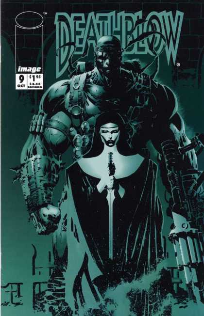 Deathblow 9 - One Ghost - Sword In Hand - One Strong Man - Great Energy - Ready For Attack - Jim Lee