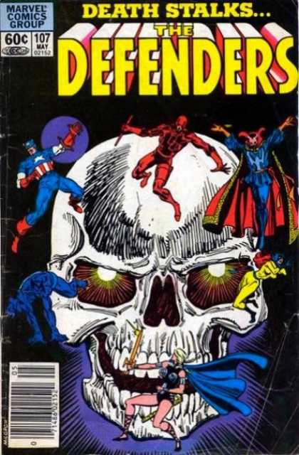 Defenders 107 - Death Stalk - Marvel - Sculp - Superheroes - Costumes