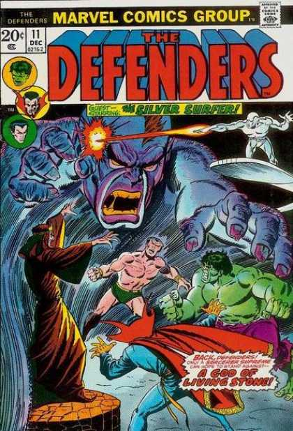 Defenders 11 - 20 Cents - Marvel Comics - December - Incredible Hulk - Bare Chest - Erik Larsen, Sal Buscema