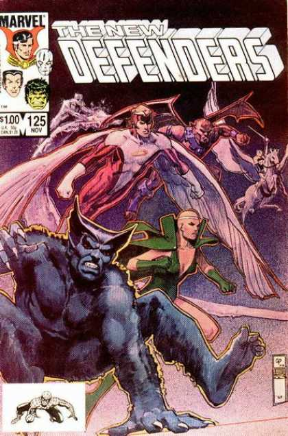 Defenders 125 - Bill Sienkiewicz, Carl Potts