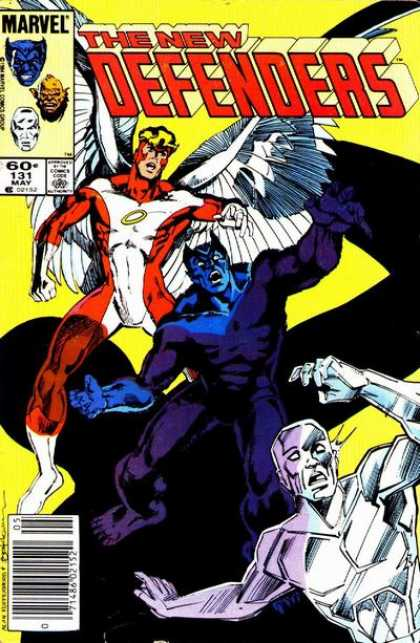 Defenders 131 - Gold Ring - Wings - Marvel - May - New - Bill Sienkiewicz