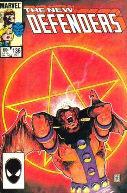 Defenders 136 - Demon - Wings - Monster - Symbol - Star