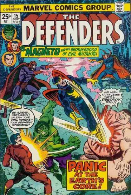 Defenders 15 - Superheroes - Cape - Fight - Powers - Destroy