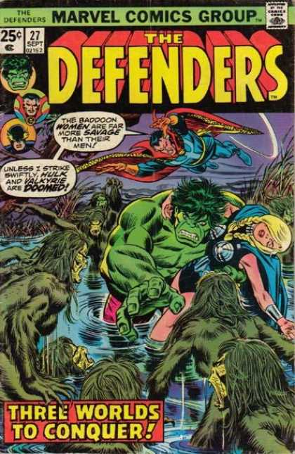 Defenders 27 - Marvel - Marvel Comics - The Defenders - The Hulk - Dr Strange