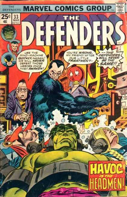 Defenders 33 - Marvel - Treatment - Havoc - Deadmen - Shocked
