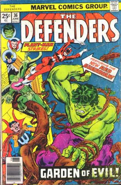 Defenders 36 - Super - Hero - Villains - Protect - Good