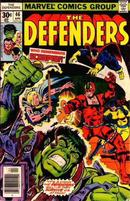 Defenders 46 - Joe Sinnott