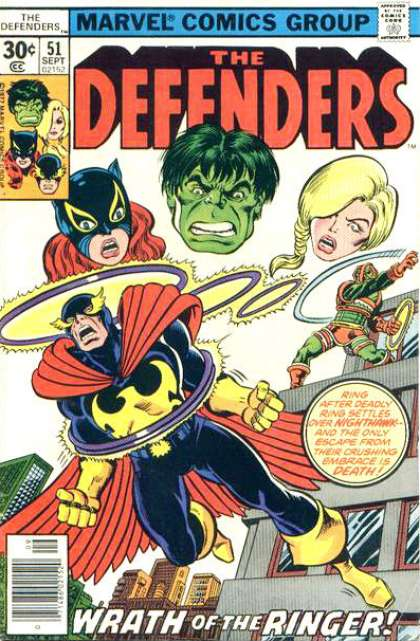 Defenders 51 - George Perez
