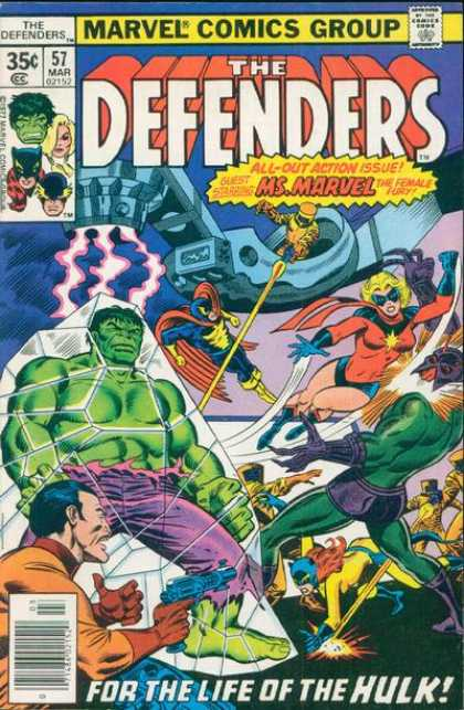 Defenders 57 - Joe Sinnott