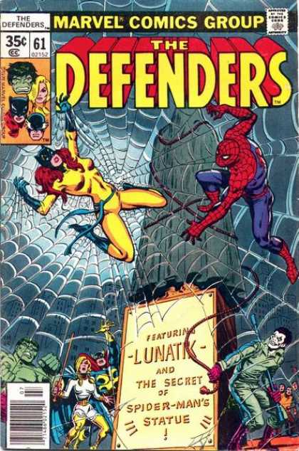 Defenders 61 - Spiderman - Web - Woman - Power - Rope