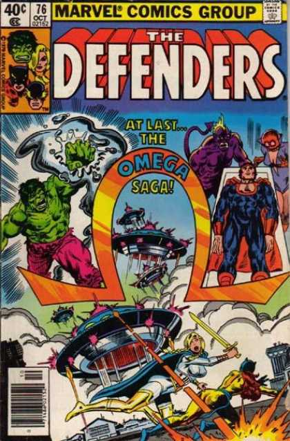 Defenders 76 - Ending - Beggining - War - Sword - People