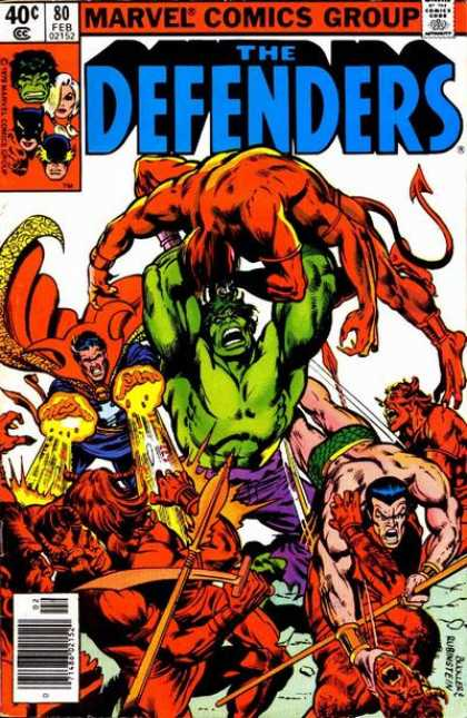 Defenders 80 - Josef Rubinstein, Richard Buckler
